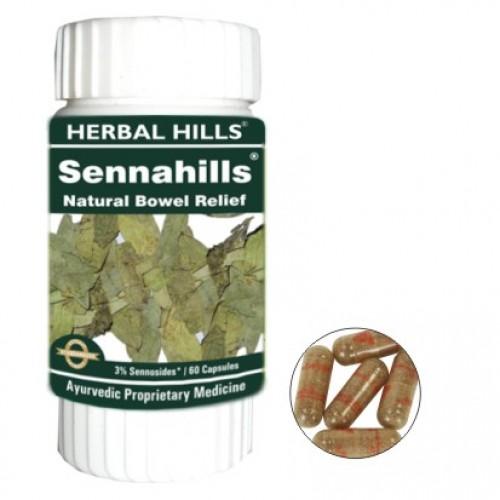 Herbal Hills SENNAHILLS Bowel Relief Capsules (60)