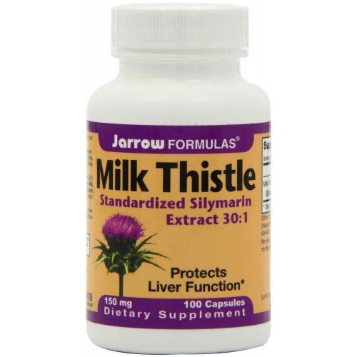 Jarrow Formulas Milk Thistle 150 mg Capsules - Liver Health