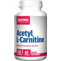 Jarrow Formulas Acetyl L-Carnitine 500mg Capsules - Antioxidant Protection for Brain