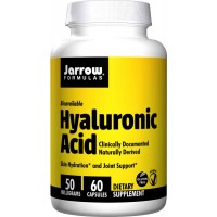 Jarrow Formulas 50 mg Hyaluronic Acid Capsules - Joint Support, Skin Hydration
