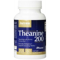 Jarrow Formulas Theanine 200, 200mg, 60 Capsules - Relaxation, Learning Ability