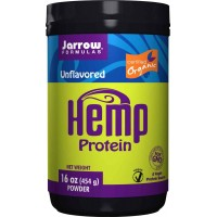 Jarrow Formulas Hemp Protein Powder Organic Unflavored 16 oz (454 gm)