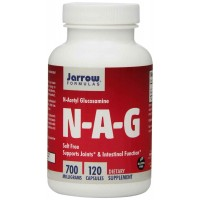 Jarrow Formulas N-A-G 700, 120 Capsules - Supports Joints, Intestinal Function