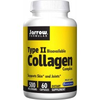 Jarrow Formulas Type 2 Collagen, 500mg, 60 Capsules - Joints, Skin