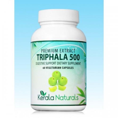 Kerala Naturals TRIPHALA Veg Capsules (60) - Digestion & Detox