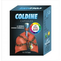 COLDINE Capsules for Cold & Sore Throat