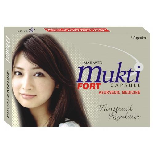 MUKTI FORT Capsules for menstrual health (60)