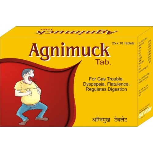 AGNIMUCK Tablets for Gas, Digestion