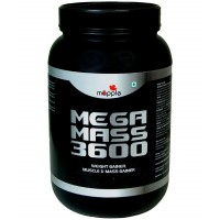 Mapple MEGA MASS 3600 Whey Protein Supplement 1kg