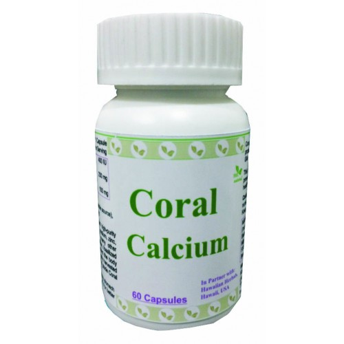 Hawaiian Herbal Coral Calcium Capsule -  60 Capsules