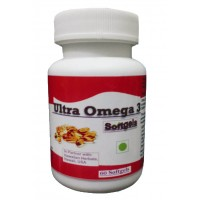 Hawaiian Herbal, Hawaii, USA - Ultra Omega 3 Softgels