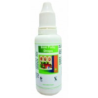 Hawaiian Herbal, Hawaii, USA - Iron Folic Drops 30 ml