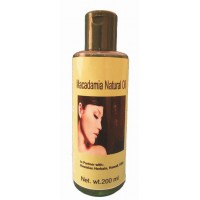 Hawaiian Herbal, Hawaii, Usa - Macadamia Natural Oil 100 Ml Bottle