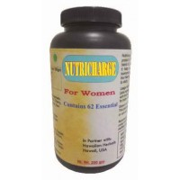 Hawaiian Herbal, Hawaii, USA - Nutricharge For Women Powder 200 gm Bottle