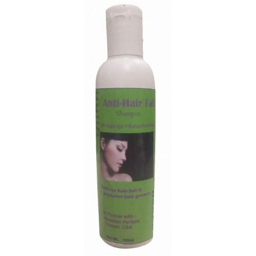 Hawaiian Herbal, Hawaii, Usa – Anti-hair Fall Shampoo 100 Ml Bottle