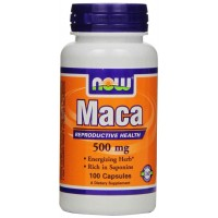 NOW Foods Maca 500mg Capsules - Reproductive Health