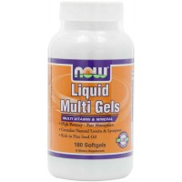 Now Foods Liquid Multi-Vitamins Softgels (180)
