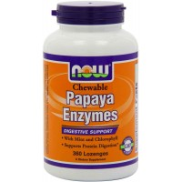 Now Foods PAPAYA ENZYME, 360 Chewable Lozenges - Digestive Support