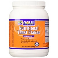 Now Foods Nutritional Yeast Flakes -10 oz (284g)