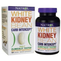 Natrol White Kidney Bean Carb Intercept, 120 Capsules - Weight Loss
