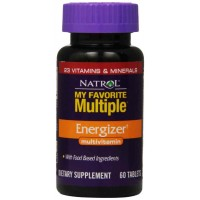 Natrol My Favorite Multiple Energizer Multivitamin 60 Tablets