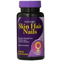 Natrol SKIN, HAIR, and NAILS for Women, 60 Capsules