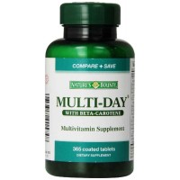 Nature's Bounty Multi-Day with Beta Carotene, 365 Tablets