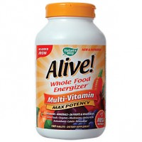 Alive! No Iron Added Multi-Vitamin Tablets (180 Tablets)