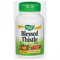 Nature's Way Blessed Thistle Herb 390mg (100 Caps) - Digestive Tonic