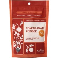 Navitas Naturals Organic POMEGRANATE Powder 8 Ounce (227 gm)