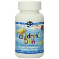 Nordic Naturals Childrens DHA 250 mg Strawberry Flavor 360 Softgels