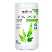 Nutiva Organic Hemp Protein Powder 16-Ounce (454 gm)