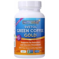NutriGold Svetol Green Coffee Extract 400mg Veg Capsules (90) - Weight Loss