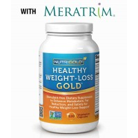 Nutrigold Healthy Weight Loss with Meratrim - 120 Veg Capsules
