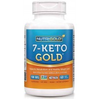Nutrigold 7-Keto 100mg Veg Capsules (60) - Weight Loss
