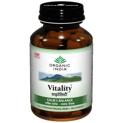 Organic India VITALITY Capsules (60)