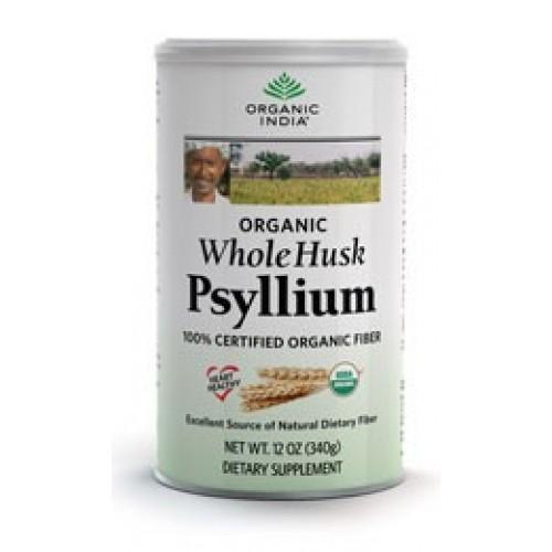 Organic India WHOLE HUSK PSYLLIUM 100g