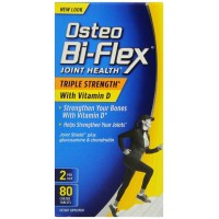 Osteo Bi-Flex Triple Strength with Vitamin D3 2000 iu, 80 Coated Tablets