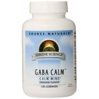 Source Naturals GABA Calm, Orange, 120 Lozenges