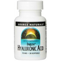 Source Naturals Injuv Hyaluronic Acid, 70mg, 30 Softgels - Joints, Skin
