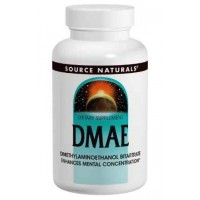Source Naturals DMAE 351 Mg, 100 Tablets - Mental Concentration