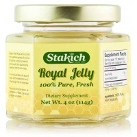 Stakich FRESH ROYAL JELLY 4-Oz (114 gm) - 100% Pure, All Natural, Top Quality