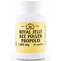 Stakich ROYAL JELLY BEE POLLEN PROPOLIS 1000 mg, 90 Capsules