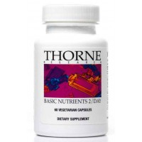 Thorne Research - Basic Nutrients 2 / DAY - Complete Multivitamin / Mineral Formula - 60 Vegetarian Capsules