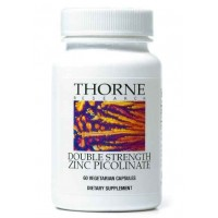 Thorne Research - Double Strength Zinc Picolinate - 60 Vegetarian Capsules