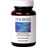 Thorne Research - Bacillus Coagulans (Formerly Lactobacillus Sporogenes) - Probiotic Nutritional Supplement - 60 Vegetarian Capsules