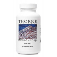 Thorne Research - Omega-3 w/CoQ10 - 90 Gelcaps
