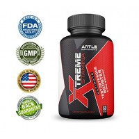 Xtreme Stamina Men's Testosterone Booster + Pre Workout Supplement & Nitric Oxide Booster - 60 Caps