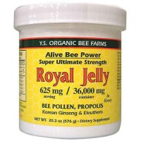 Fresh Royal Jelly + Bee Pollen, Propolis, Ginseng, Honey Mix - 36,000mg, 20.3 oz (576 gm)