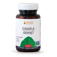 Blissful Sleep - 30 Herbal Tablets - Natural Aid for Falling Asleep Quickly - No Side Effects